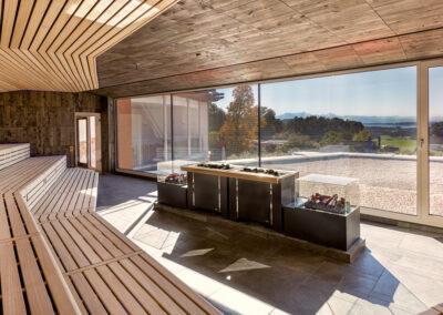 Panorama-Sauna, Chiemgau Therme
