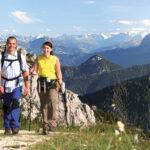 Bergwandern auf der Kampenwand