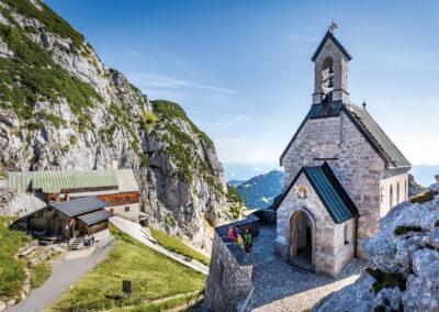 Wendelsteinbahn: Deutschlands höchstgelegene Kirche auf dem Wendelstein