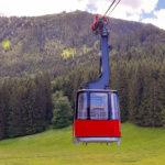 Kabinenbahn der Hochries Bergbahn, Foto: Gäste-Information Samerberg für Hochries Bergbahn